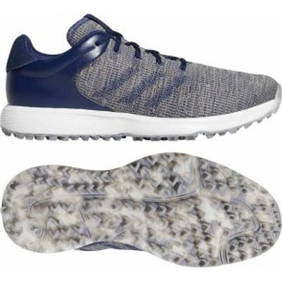 アディダス メンズ スニーカー シューズ adidas Men's S2G Golf Shoes Indigo/Indigo/White