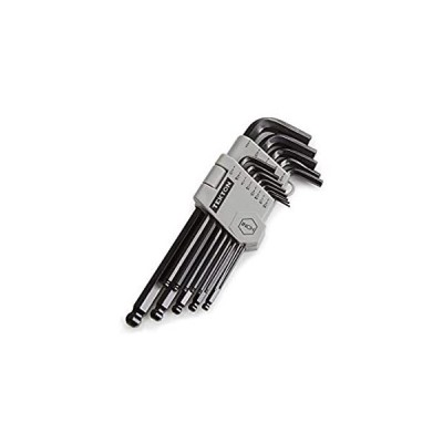 TEKTON Ball End Hex Key Wrench Set, 13-Piece (3/64-3/8 in.) | 25262