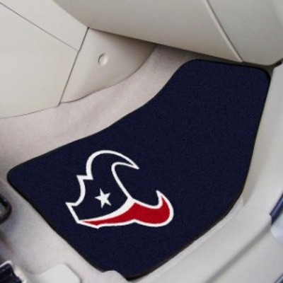 Fan Mats ファン マット スポーツ用品  Houston Texans 2-Piece Carpet Car Mat Set