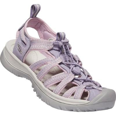 キーン Keen レディース サンダル・ミュール シューズ・靴 Whisper Sandals Lavender/Dawn Pink