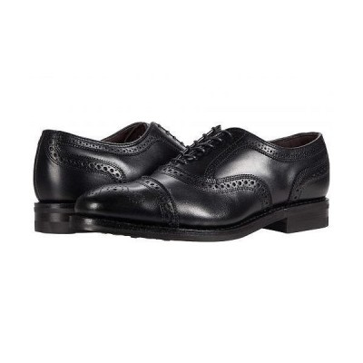 Allen Edmonds アレン エドモンズ メンズ 男性用 シューズ 靴 オックスフォード 紳士靴 通勤靴 Strand Weatherproof - Black