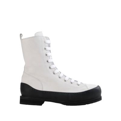 アン ドゥムルメステール ANN DEMEULEMEESTER ブーツ ホワイト 40 革 ブーツ