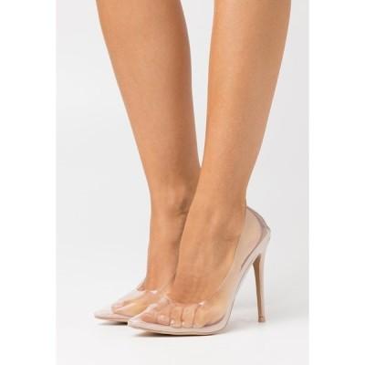 ベボ ヒール レディース シューズ ELDA - High heels - clear/nude