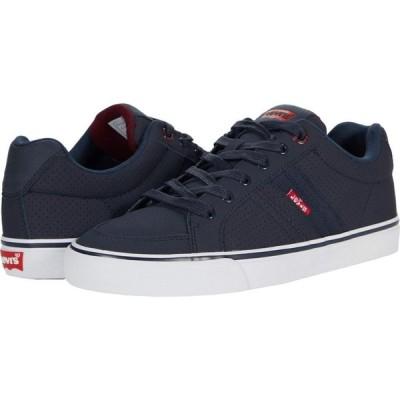 リーバイス Levi's Shoes メンズ スニーカー シューズ・靴 Turner Pin Perforated Navy/Burgundy