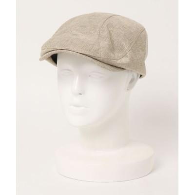 polcadot / FAKE LINEN HUNTING/フェイクリネン ハンチング WOMEN 帽子 > ハンチング/ベレー帽