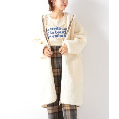 SHIPS for women / シップスウィメン 【SHIPS any別注】SUNNY SPORTS: ボア ロングコート