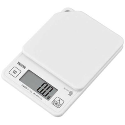 タニタ デジタルクッキングスケール (1kg) KJ114-WH ココナッツホワイト