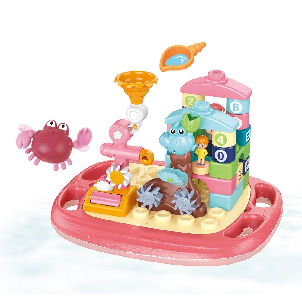 多功能戲水浮板沐浴樂園