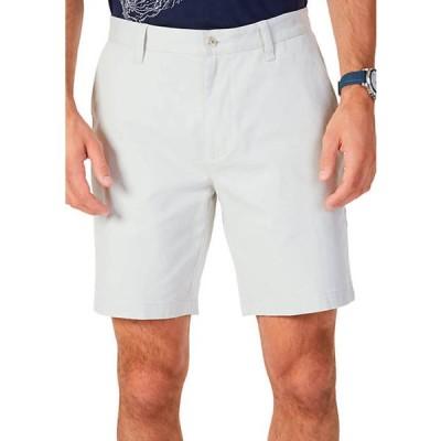 ナウティカ メンズ ハーフパンツ・ショーツ ボトムス 8.5 in Flat Front Deck Shorts
