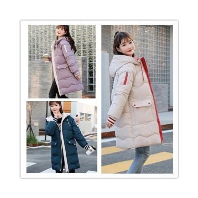 コート レディース ダウンジャケット ロングコート ダウンコート アウター 大きいサイズ 秋冬 オリジナル レディース フード付 暖かい 20代