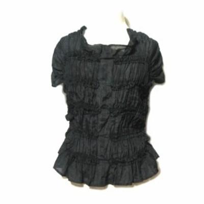 SIDIA「38」シャーリングカットソー (shirring cut sew) シィディア Tシャツ 058445【中古】