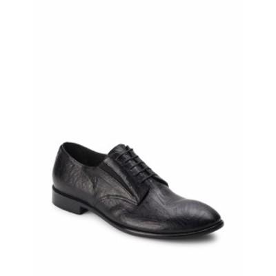 ジョーゴースト メンズ シューズ オックスフォード 革靴 Textured Leather Derby Shoes