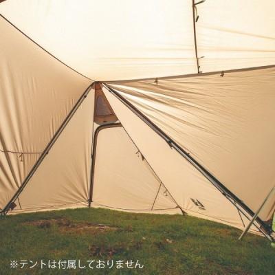 ogawa キャンパルジャパン ツインピルツフォーク L 2又フレーム 3047 アウトドア フレーム キャンプ