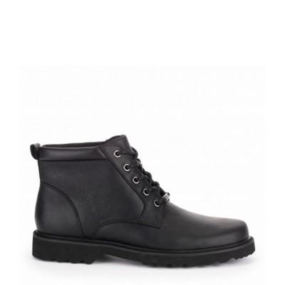 ロックポート Rockport メンズ ブーツ シューズ・靴 Waterproof Leather Northfield Plain Toe Black