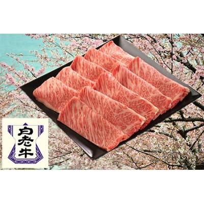 白老牛すき焼き用(桜)