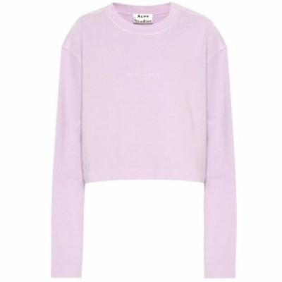 アクネ ストゥディオズ Acne Studios レディース ニット・セーター トップス Cotton sweater Lavender Purple