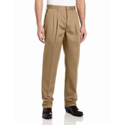 wrangler ラングラー ファッション パンツ Wrangler NEW Beige Mens Size 31X30 Khakis Chinos Pleated Relaxed Pants