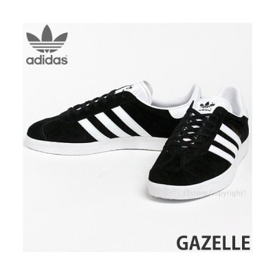 アディダス オリジナルス ガッツレー adidas ORIGINALS GAZELLE スニーカー シューズ メンズ 復刻 ガゼル SNEAKER SHOES カラー:ブラック/ホワイト/ゴールド