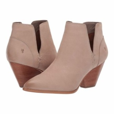 フライ Frye レディース ブーツ シューズ・靴 Reina Cut Out Bootie Taupe Tumbled Nubuck