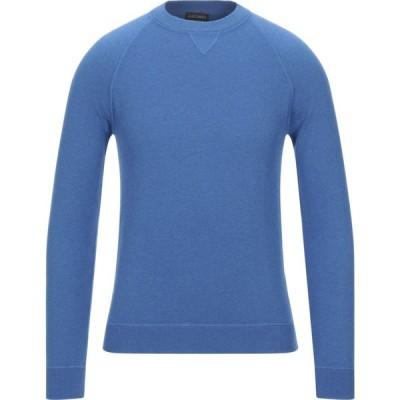 ザニエリ ZANIERI メンズ ニット・セーター トップス cashmere blend Blue