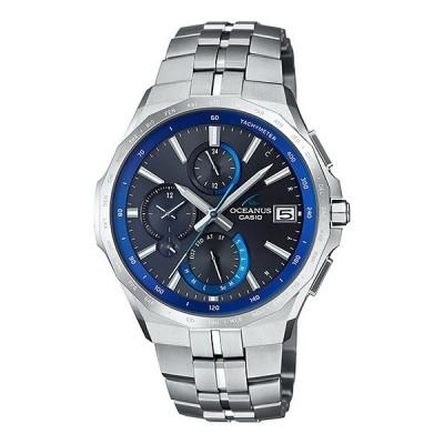 国内正規品 CASIO OCEANUS カシオ オシアナス マンタ最薄 ソーラー電波 アプリ対応 Bluetooth メンズ腕時計 OCW-S5000-1AJF