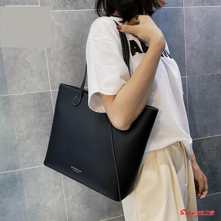 托特包 大包包女包2020新款潮手提單肩托特包大容量百搭氣質通勤包