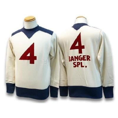 "FREE WHEELERS/フリーホイーラーズ2020FW「Athletic Sweat Shirt""4 Banger SPL""/アスレチックスウェッ"