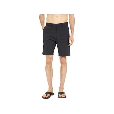 """ビラボン Surftrek Wick 20"""""""" Walkshorts メンズ 半ズボン Black"""