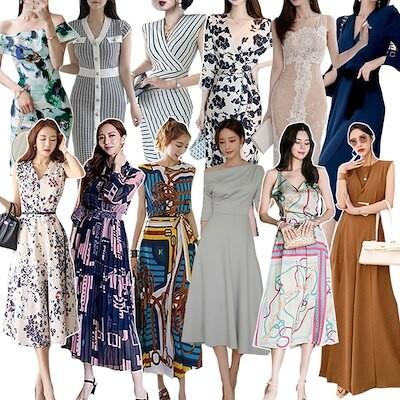 新追加 ロングワンピース ドレス 花柄 韓国ファッション パーティードレス