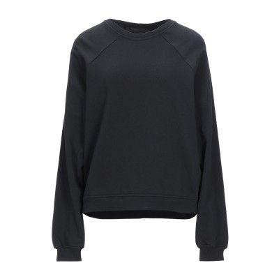 ハイダー アッカーマン HAIDER ACKERMANN スウェットシャツ ブラック XS コットン 100% / ポリウレタン スウェットシャツ