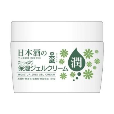 【お一人様1個限り特価】 日本盛 日本酒のたっぷり保湿 ジェルクリーム 180g