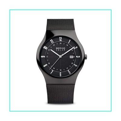 【新品】BERING Time   Men's Slim Watch 14640-222   40MM Case   Solar Collection   Stainless Steel Strap   Scratch-Resistant Sapphire Crystal   Min