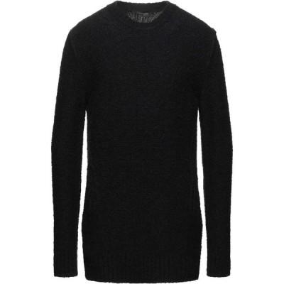 メッサジェリエ MESSAGERIE メンズ ニット・セーター トップス Sweater Black