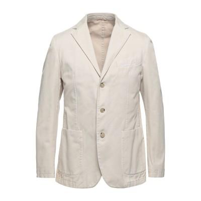 LUBIAM テーラードジャケット ベージュ 50 コットン 100% テーラードジャケット