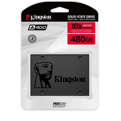 金士頓 Kingston SA400S37/480G A400 SATA3 2.5 480G SSD 固態硬碟