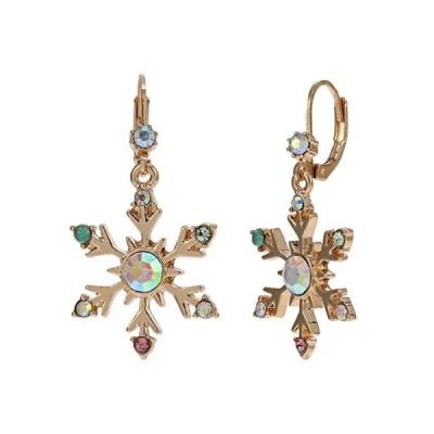 ベッツィジョンソン Snowflake Stud Earrings レディース ピアス イヤリング Crystal AB