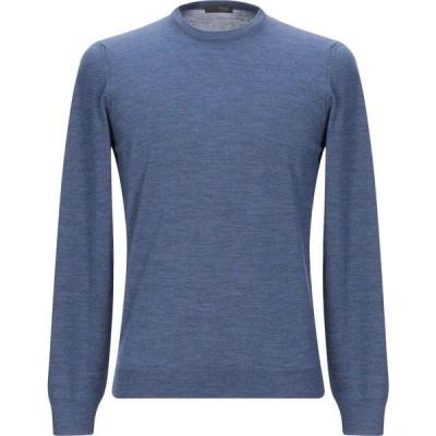 ドルモア DRUMOHR メンズ ニット・セーター トップス sweater Slate blue