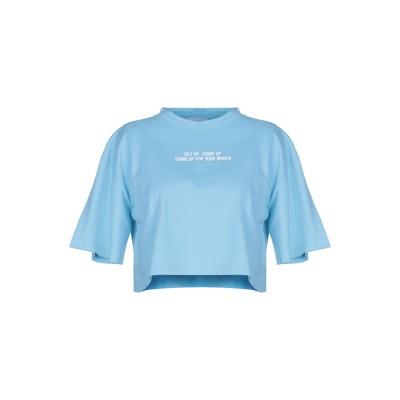 LUPE T シャツ アジュールブルー III コットン 100% T シャツ