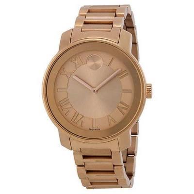 腕時計 モバード Movado ユニセックス 3600199 'Bold' ローズトーン ステンレス スチール 腕時計