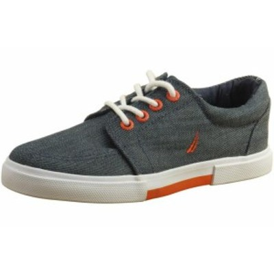 nautica ノーティカ キッズ シューズ Nautica Little/Big Boys Berrian Canvas Sneakers Shoes