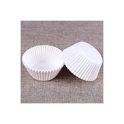 XZJWL 100PCS /設定マフィンカップケーキペーパーカップケーキは、ツールを飾るカップケーキベーキングマフィンボックスカップケースパーティート