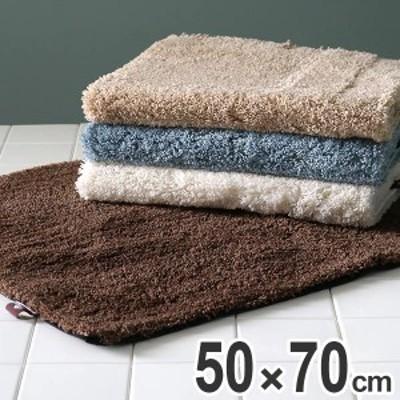 バスマット プリスベイス ソフィ 50×70cm 吸水 速乾 ( 風呂マット お風呂マット 足ふきマット 足拭きマット 浴室マット 吸水速乾 滑り