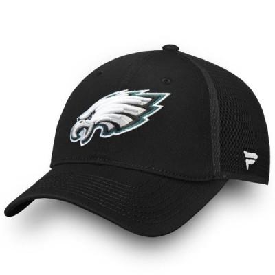 ユニセックス スポーツリーグ フットボール Philadelphia Eagles NFL Pro Line by Fanatics Branded Elevated Core Trucker Adjustable Sna