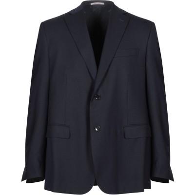 RAVAZZOLO テーラードジャケット ダークブルー 56 バージンウール 100% テーラードジャケット