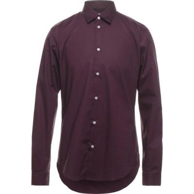 ピューテリー PEUTEREY メンズ シャツ トップス Solid Color Shirt Deep purple