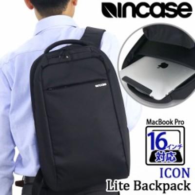 リュック メンズ Incase インケース リュックサック デイパック バックパック ビジネスバッグ 黒リュック 通勤 通勤用 学生 通学 黒 かば