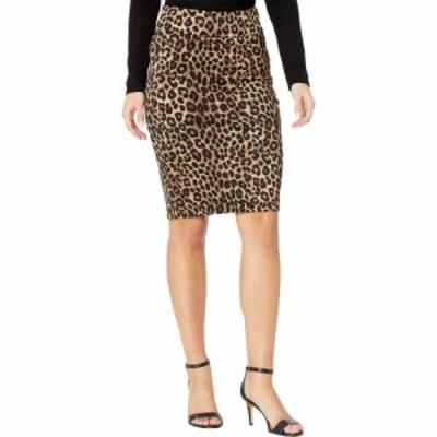 マイケル コース MICHAEL Michael Kors レディース ひざ丈スカート ペンシルスカート スカート Petite Cheetah Pencil Skirt Dark Camel