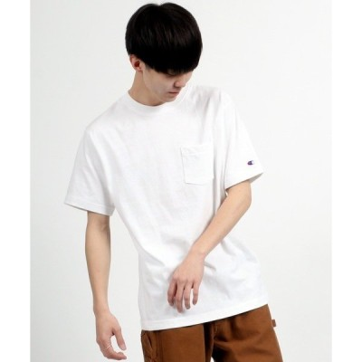 tシャツ Tシャツ 【Champion】 ヘビーウェイト ポケット クルーネックTシャツ