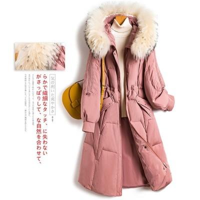コート ダウンコート レディース 中綿コート ダウンジャケット 秋冬 40代 カジュアル ダウン コート 軽量 大きいサイズ フード付き アウター