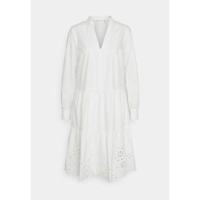 インウェア ワンピース レディース トップス VALLERIA DRESS - Day dress - pure white